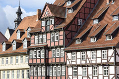 Half-timbered house in Quedlinburg town, Germany Royalty Free Stock Photography