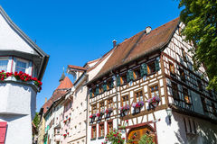 Half timbered house in Rottweil Stock Photo