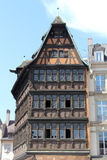 Half Timbered House in Strasbourg Royalty Free Stock Images