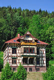 Half-timbered House,Thuringia,Germany Stock Photo
