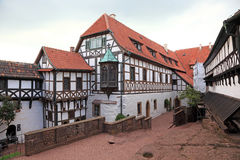 Half timbered house in Thuringia, Germany Stock Photos