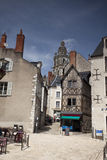 Half-timbered house in Tours Amboise, Valley of Loire, France Royalty Free Stock Images
