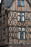 Half-timbered house in Tours, Stock Images