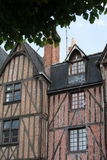 Half-timbered house in Tours, Royalty Free Stock Photography