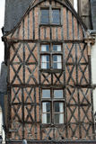 Half-timbered house in Tours Royalty Free Stock Photos