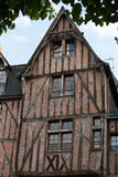 Half-timbered house in Tours Royalty Free Stock Images