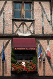 Half-timbered house in Tours Stock Photography