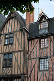 Half-timbered house in Tours Stock Images