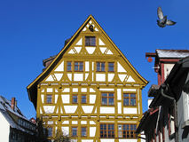 Half-timbered house in Ulm, Germany Stock Photography