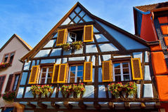 Half-Timbered Houses Stock Photos