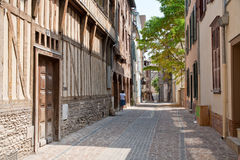 Half-timbered houses Royalty Free Stock Images