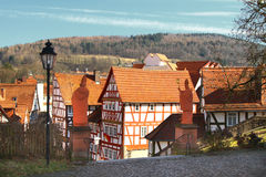 Half Timbered Houses Stock Image