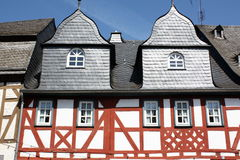 Half timbered houses Stock Photos