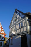 Half-timbered houses Stock Image