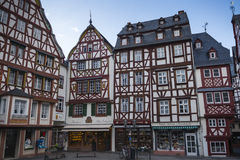 Half timbered houses Royalty Free Stock Images