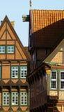 Half-timbered houses Stock Photos