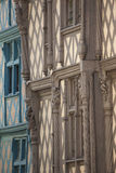 Half timbered houses Stock Images