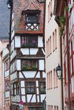 Half-timbered houses in Bavaria, Germany Stock Image