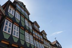 Half-timbered Houses in Celle, Germany Stock Photos
