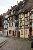 Half timbered houses of Colmar Royalty Free Stock Photography