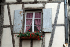 Half timbered houses of Colmar Royalty Free Stock Photos