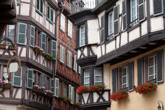 Half timbered houses of Colmar Royalty Free Stock Photo