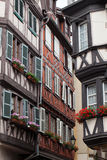 Half timbered houses of Colmar Royalty Free Stock Images