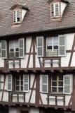 Half timbered houses of Colmar Stock Image