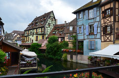 Half timbered houses of Colmar Stock Photography