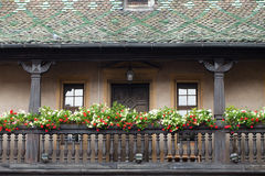 Half timbered houses of Colmar Stock Photo