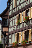 Half timbered houses of Colmar, Stock Photo