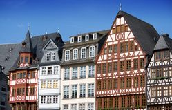Half-timbered houses in Frankfurt. Germany Royalty Free Stock Photography