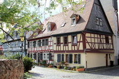 Half-timbered houses in Frankfurt am Main Royalty Free Stock Photos