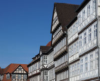 Half-timbered houses in Hannover, Germany Stock Photography