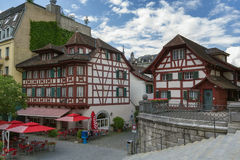 Half-timbered houses, Lucerne Stock Photography