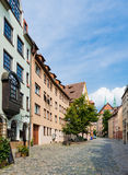 Half-timbered houses of the Old Town, Nuremberg Royalty Free Stock Photo