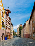 Half-timbered houses of the Old Town, Nuremberg Stock Image
