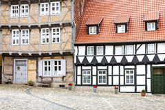 Half-timbered houses in Quedlinburg, Germany Stock Photos
