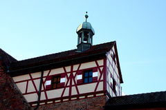 Half-timbered houses Stock Images