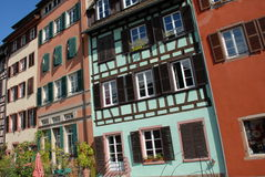 Half-timbered houses in Strasbourg Royalty Free Stock Photography