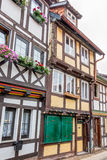 Half-timbered houses in Wernigerode, Germany Stock Photos