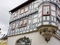 Half-timbered-III-Waiblingen-Germany Stock Photo