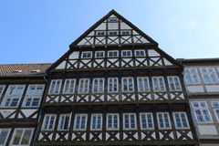 Half-timbered old house Royalty Free Stock Photos