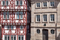 Half Timbered and Stone Stock Photos