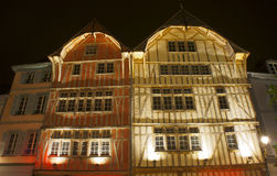 Half-timbered tenement house Royalty Free Stock Photography