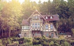 Half-timbered villa Royalty Free Stock Photos