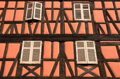 Half-Timbered Wall Royalty Free Stock Image