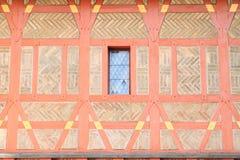 Half-timbered wall Royalty Free Stock Image