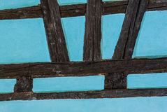 Half timbered wall Royalty Free Stock Photos