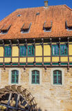 Half timbered Watermill building in Steinfurt Royalty Free Stock Photography